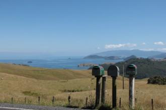 Briefkästen im nirgendwo - Neuseeland