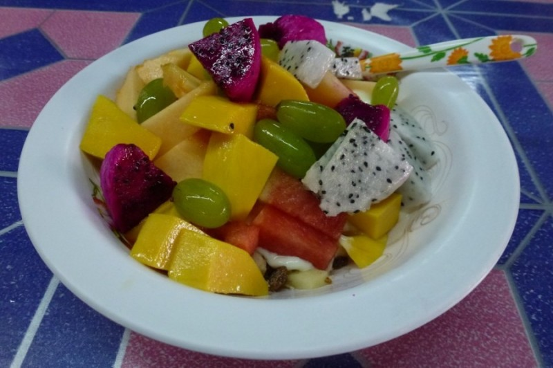 Obstsalat in Thailand