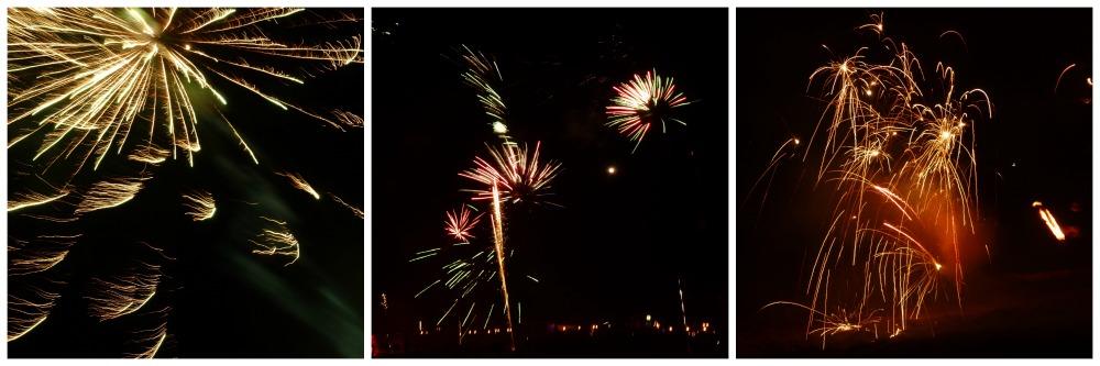 Feuerwerk auf Föhr