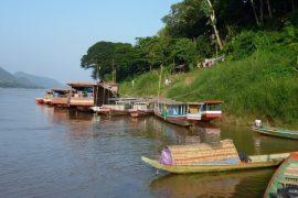 Der Mekong bei Luang Prabang