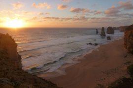 die 12 Apostel bei Sonnenuntergang