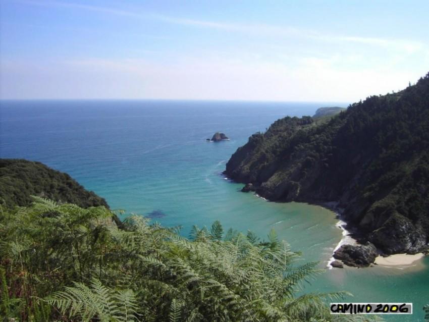 Wandern auf dem Küstenweg