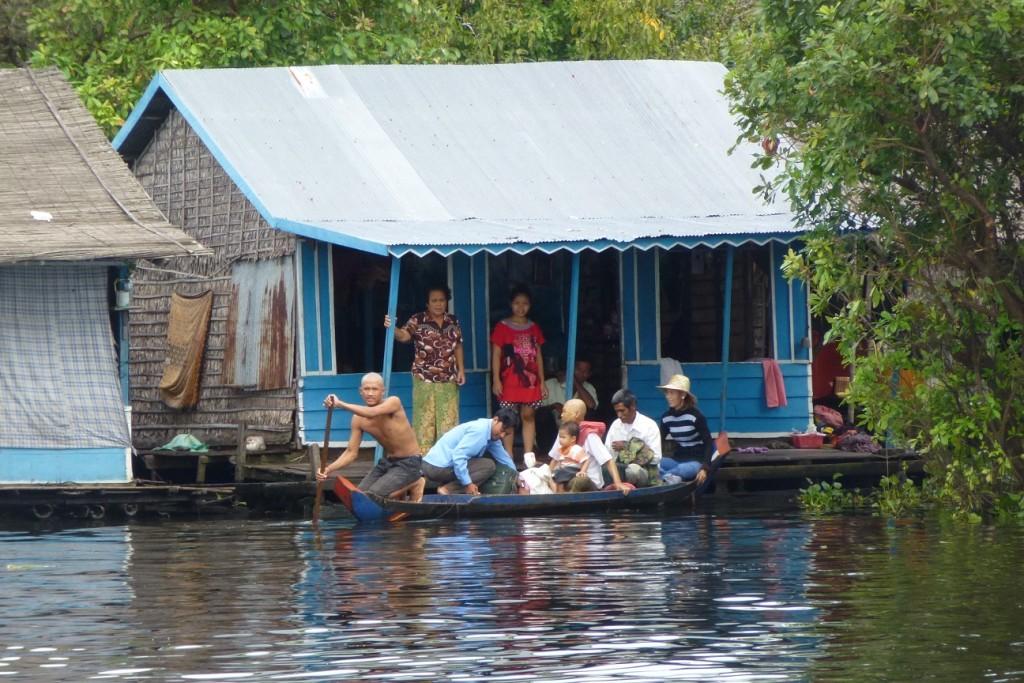 Bootstour Siem Reap nach Battambang