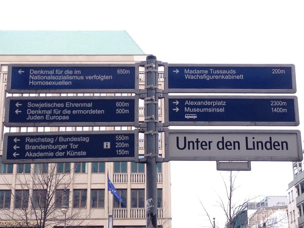 Wegweiser Berlin