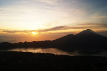 Gnung Agung Sonnenaufgang