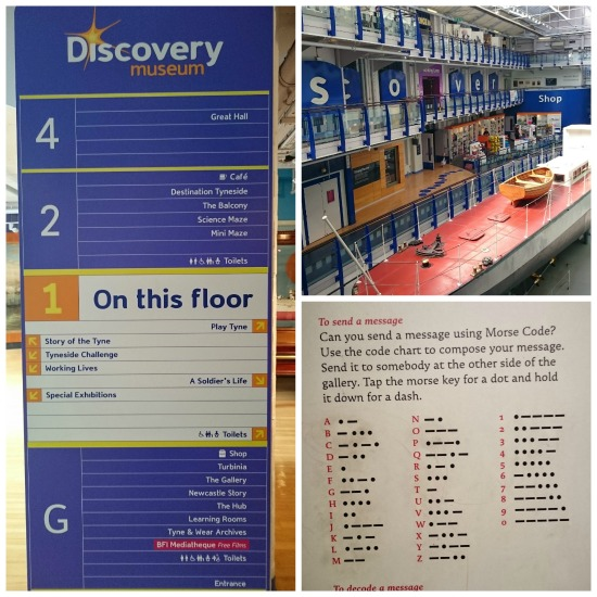 übersicht newcastle discovery museum