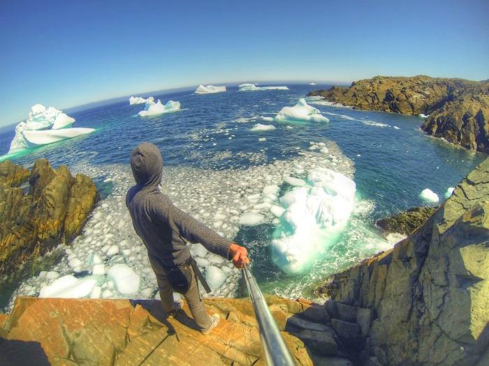 Eisberge Neufundland
