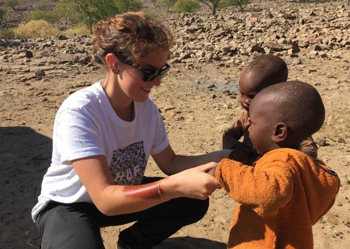 alleinerziehend nach namibia