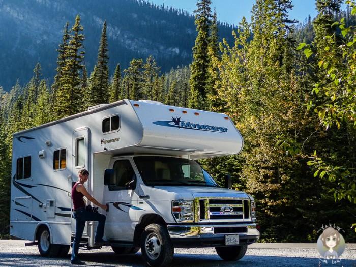 Pound Up Post Kanada Camping in Kanada