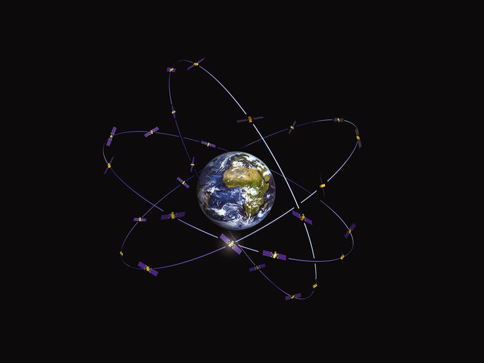 Galileo_constellation by ESOC/ESA