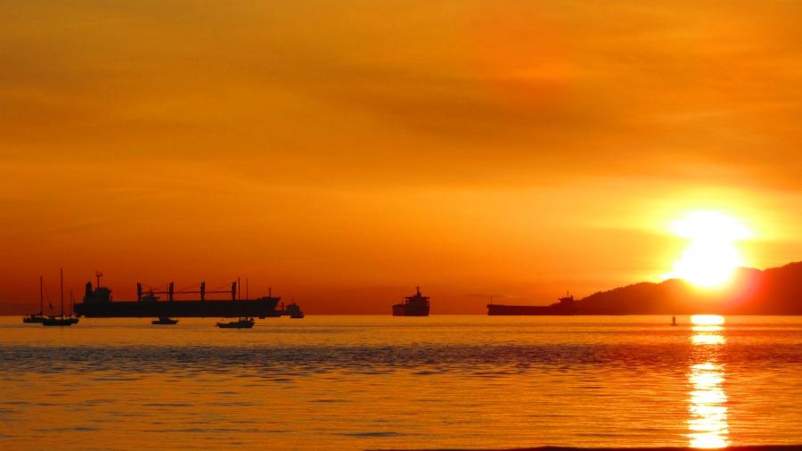 Sunset Vancouver Round Up Kanada