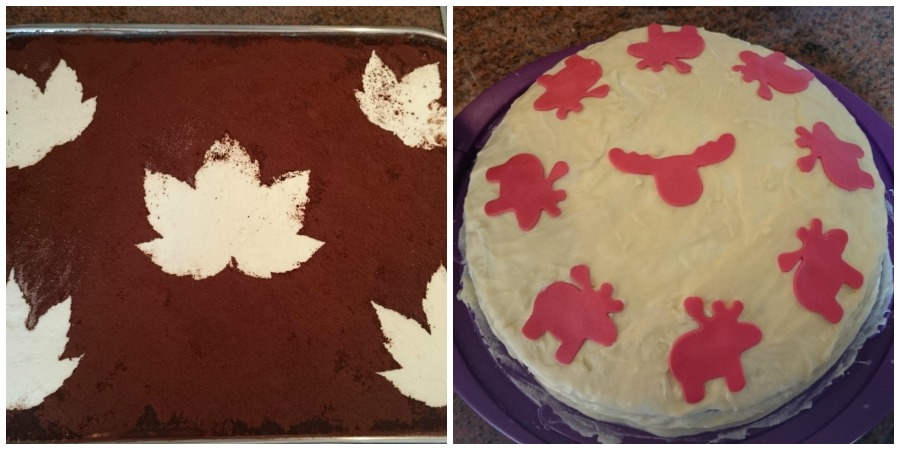 Apfeltiramisu und lecker Torte!
