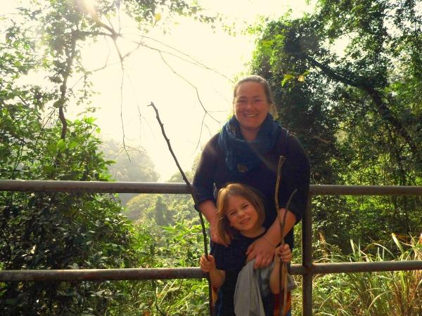 alleine reisen mit kind, Hong Kong Hiking