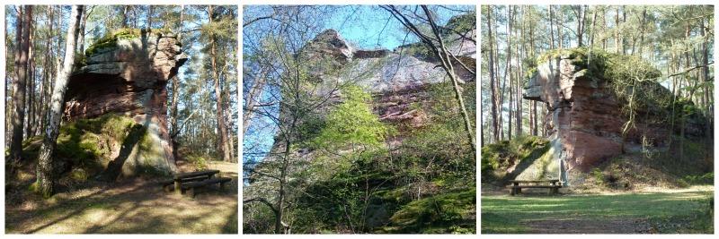 Unterwegs auf dem Bärensteig im Daher Felsenland