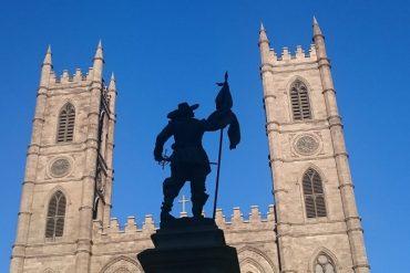 Bilder aus Quebec,Notre Dame Basilika Montreal