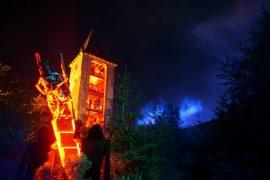 Halloween Burg Frankenstein