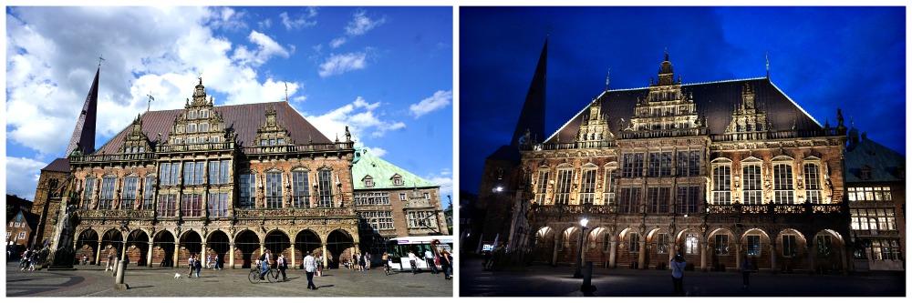 Bremer Rathaus und Roland