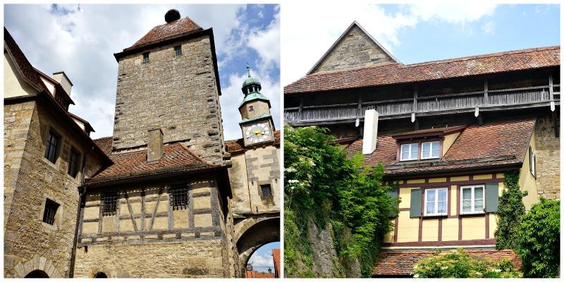 Turm Weg Rothenburg ob der Tauber