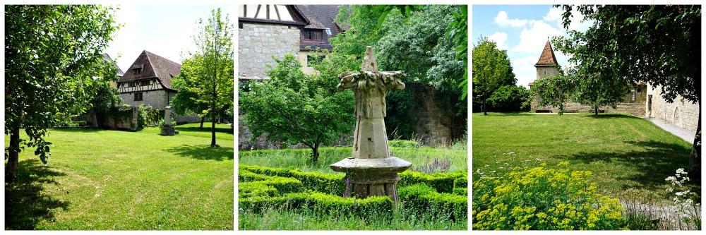 Klostergarten Rothenburg ob der Tauber
