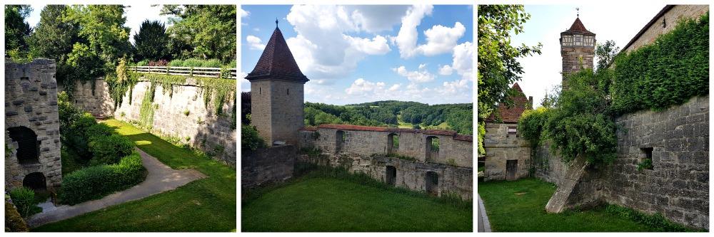 Turm Weg Rothenburg
