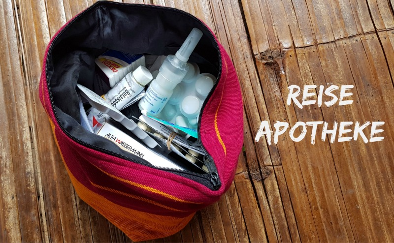Packliste Reiseapotheke