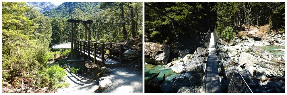 Great Walks Neuseeland - Tageswanderung auf dem Routeburn Track